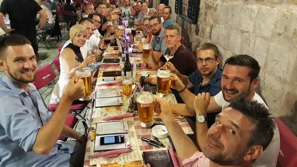 Abschlussabendessen Dubrovnik