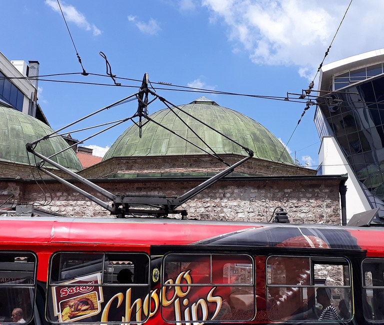 Die alte orthodoxe Kirche