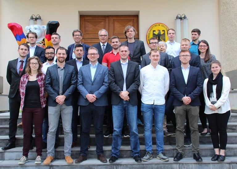 Besuch beim deutschen Botschafter in Jerewan