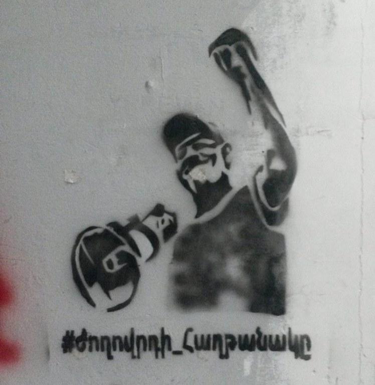 Anführer der Protestbewegung Paschinjan