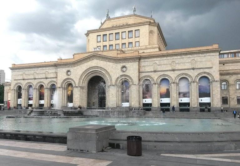 Platz der Rebublik Jerewan