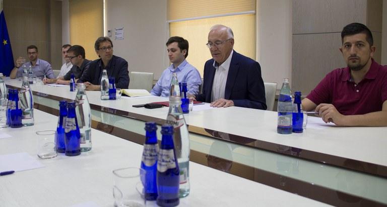 Diskussion mit Zurab Abashidze