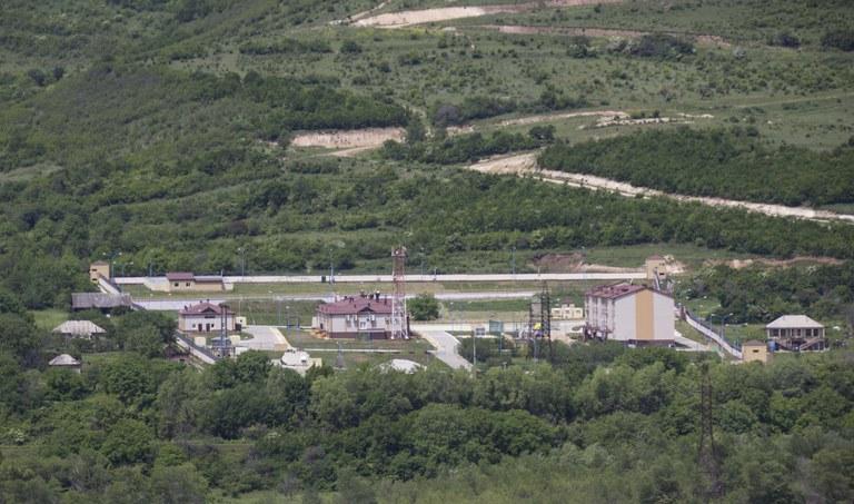 Russische FSB-Basis Südossetien
