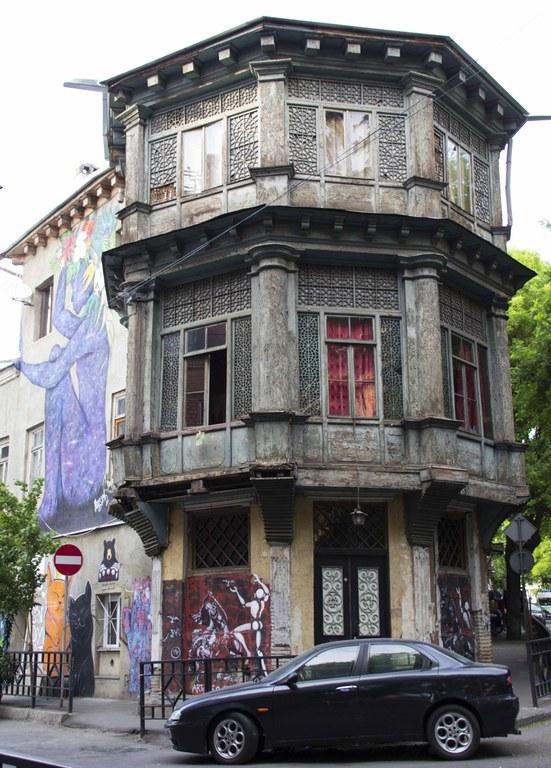 Typische Architektur in Tiflis