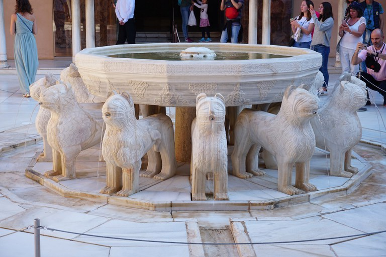 Alhambra Löwenbrunnen