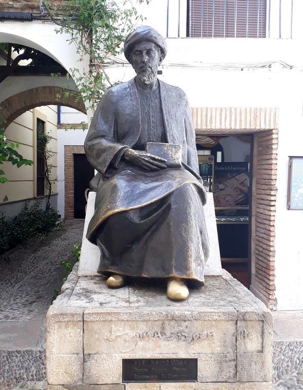 Maimonides-Statue Córdoba