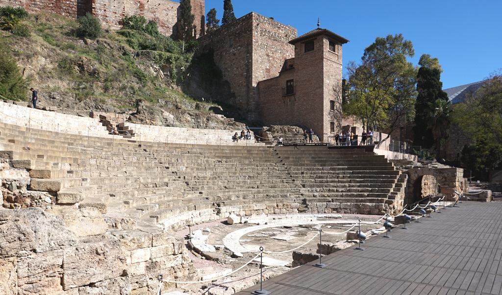 Römisches Amphitheater Malaga