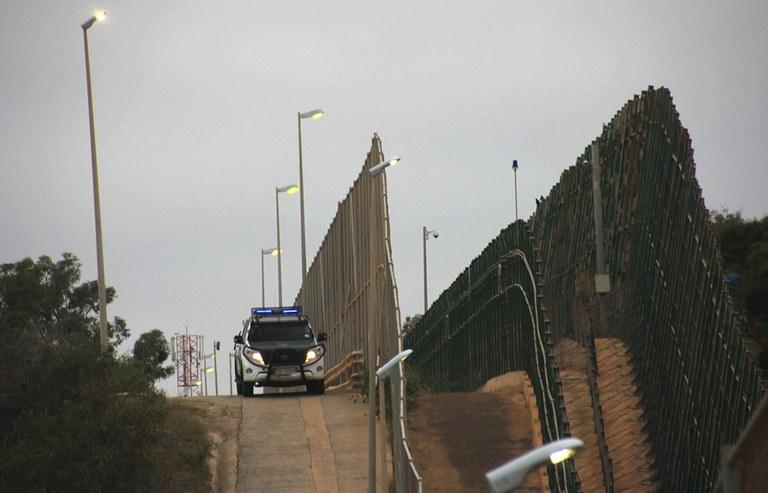 Grenzpatrouille Melilla