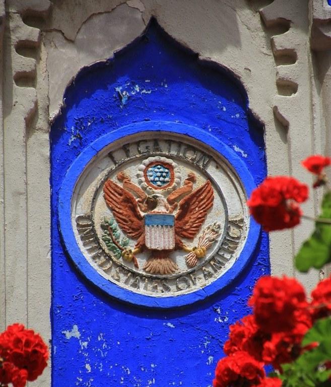 Old American Legation Detail