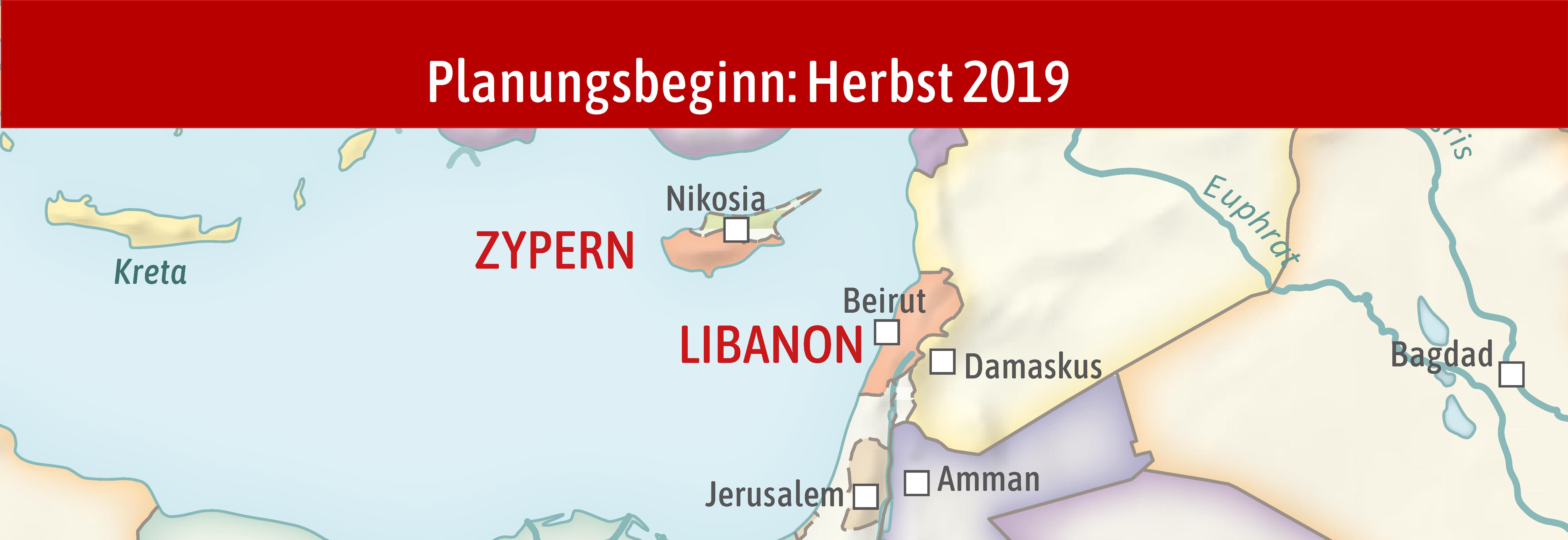 Zypern & Libanon 2020