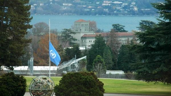 Genf: Blick aus dem Palais des Nations
