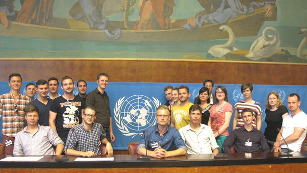 Genf: Im Palais des Nations