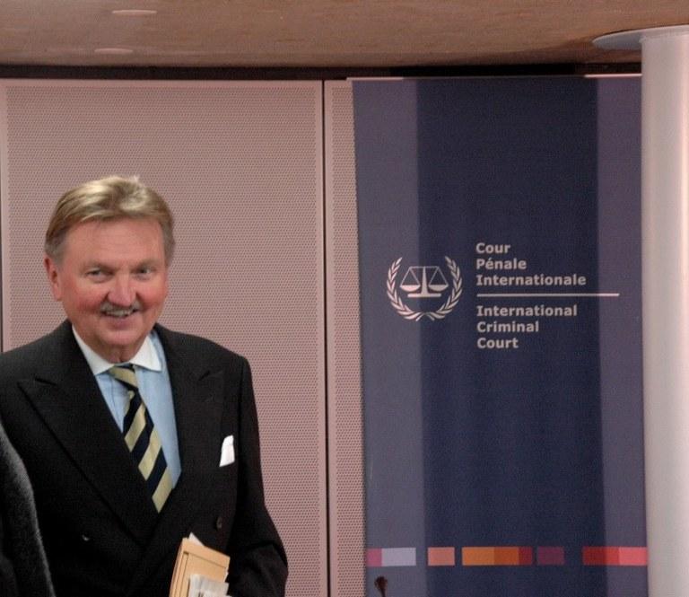 Den Haag: Hans-Peter Kaul, Richter am IStGH
