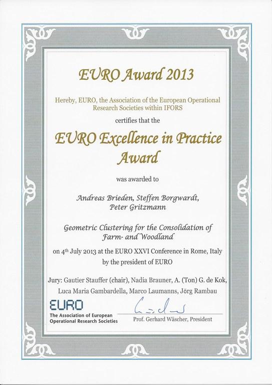 Euro Award 2013