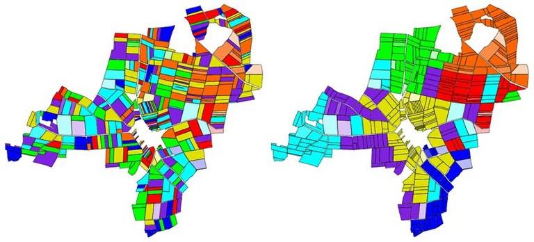 Flurbereinigung durch Clusteranalyse