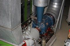 Turbokomponenten-Prüfstand