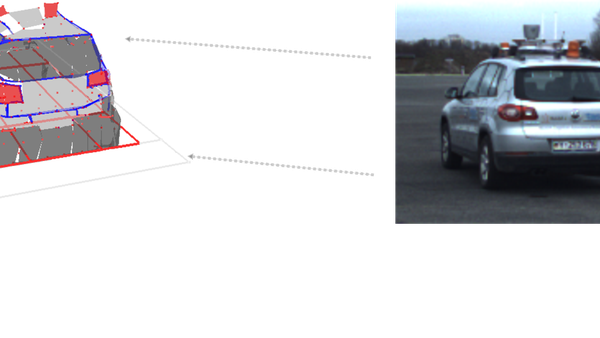 Model based Vehicle Tracking