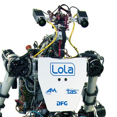 Laufroboter Lola mit Kamerasystem