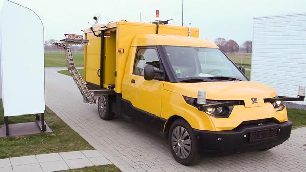 Automatisierung eines Elektrofahrzeugs