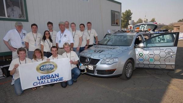 Urban Challenge 2007 in Victorville (CA, USA)