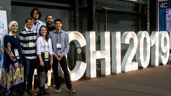 Die Gruppe Usable Security and Privacy auf der CHI 2019