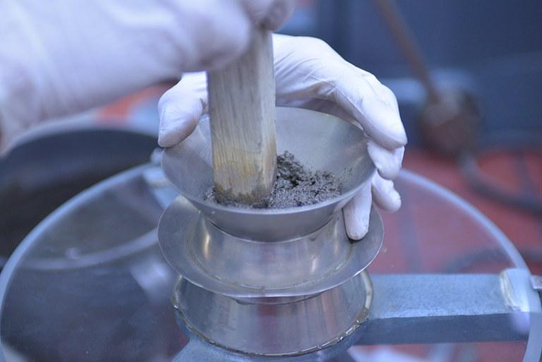 Mortar sample