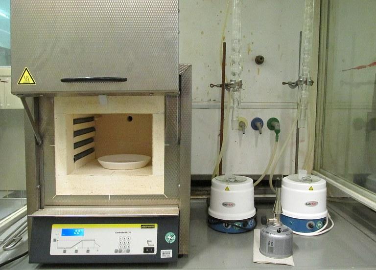 Glühofen mit einer Maximaltemperatur von 1400 °C